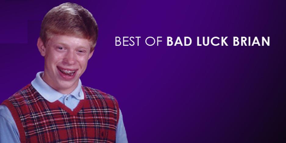 Fuentes de información meme bad luck brian