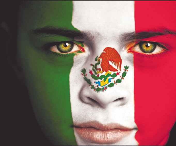 ficticios, lectores, ya estamos con toda la efervescencia mexicana