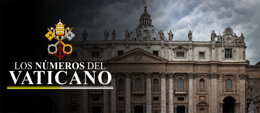 Los números del vaticano