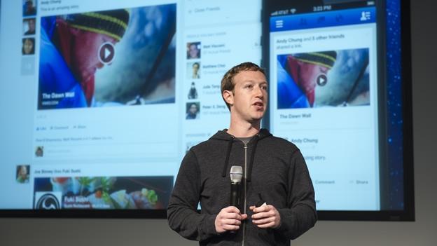 Zuckerberg presenta la nueva imagen del Inicio de Facebook